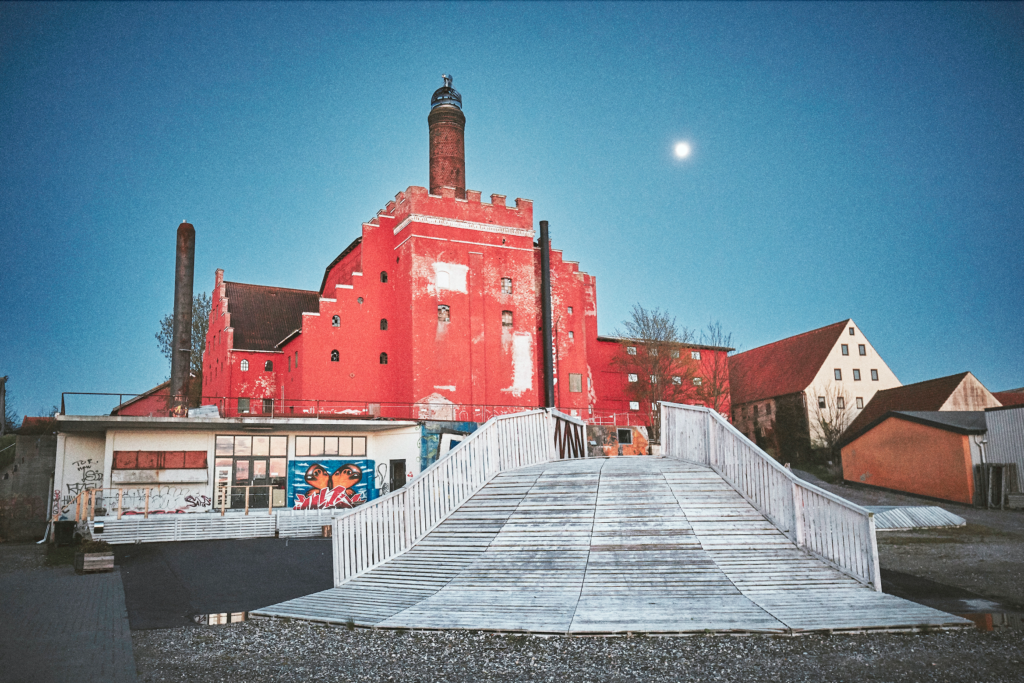 Hvad husker du fra dengang Maltfabrikken så sådan ud?